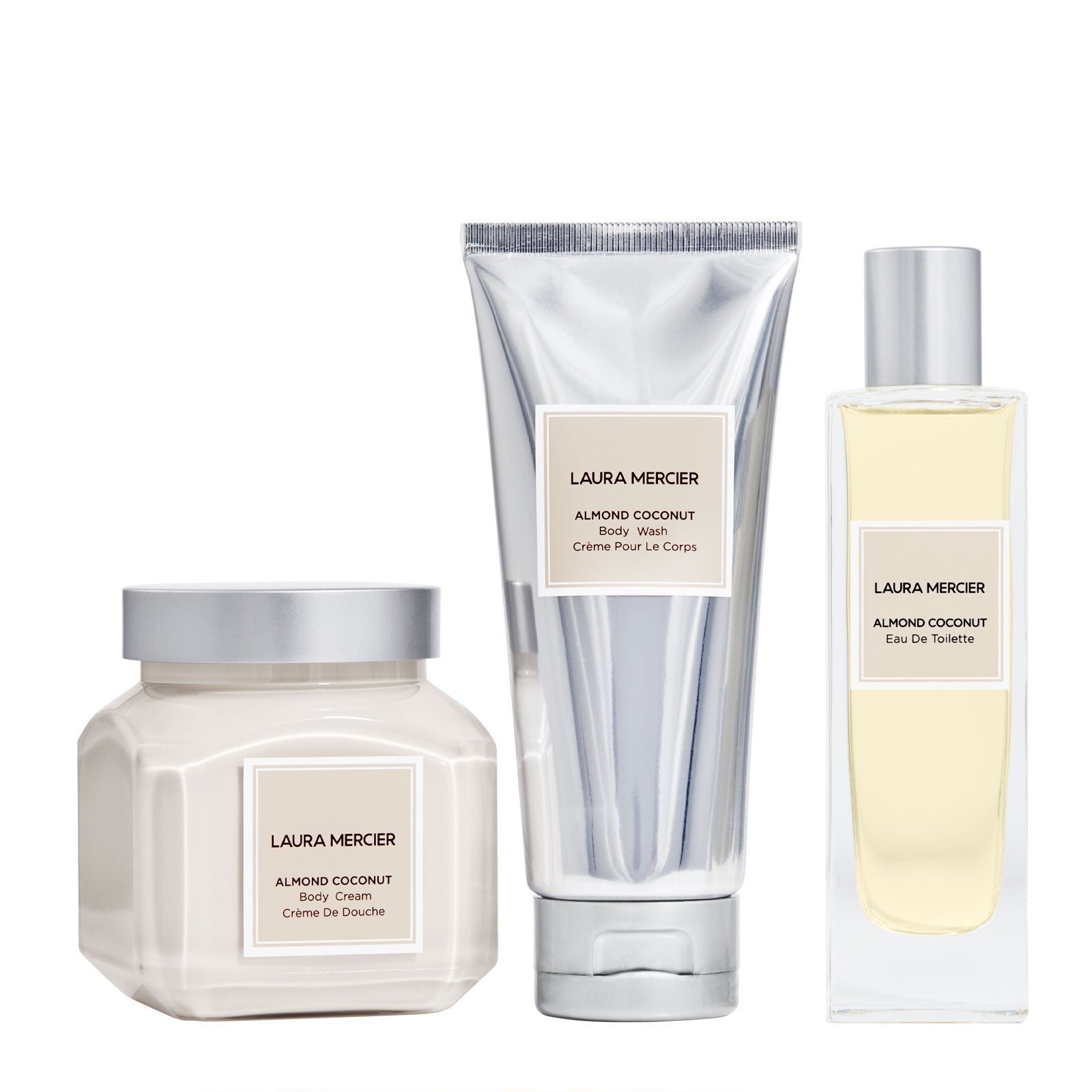 Laura Mercier Luxe Indulgence Almond Coconut Body Triplet