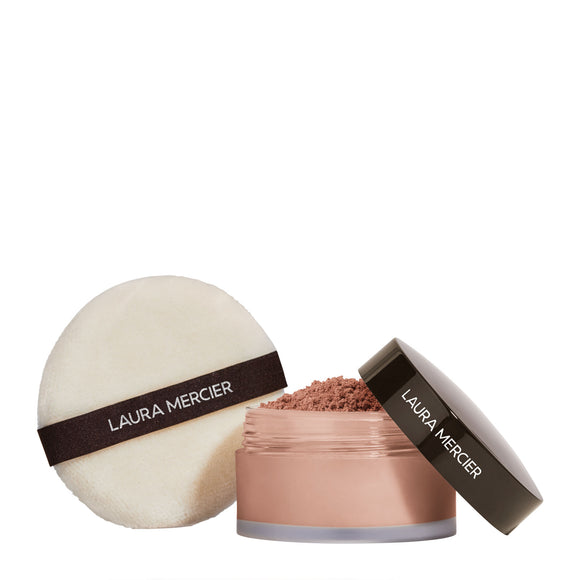 Laura Mercier Set To Perfect Loose Setting Powder + Puff Set Translucent Medium Deep 29g