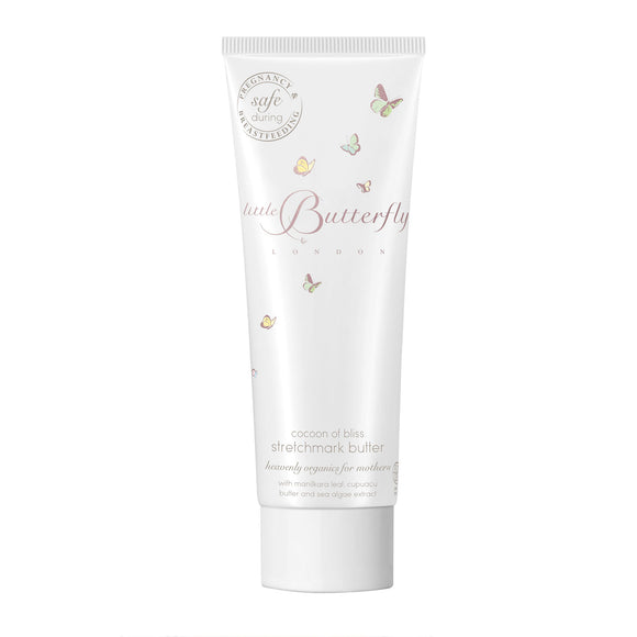 Little Butterfly London Cocoon of Bliss Stretch Mark Butter 150ml
