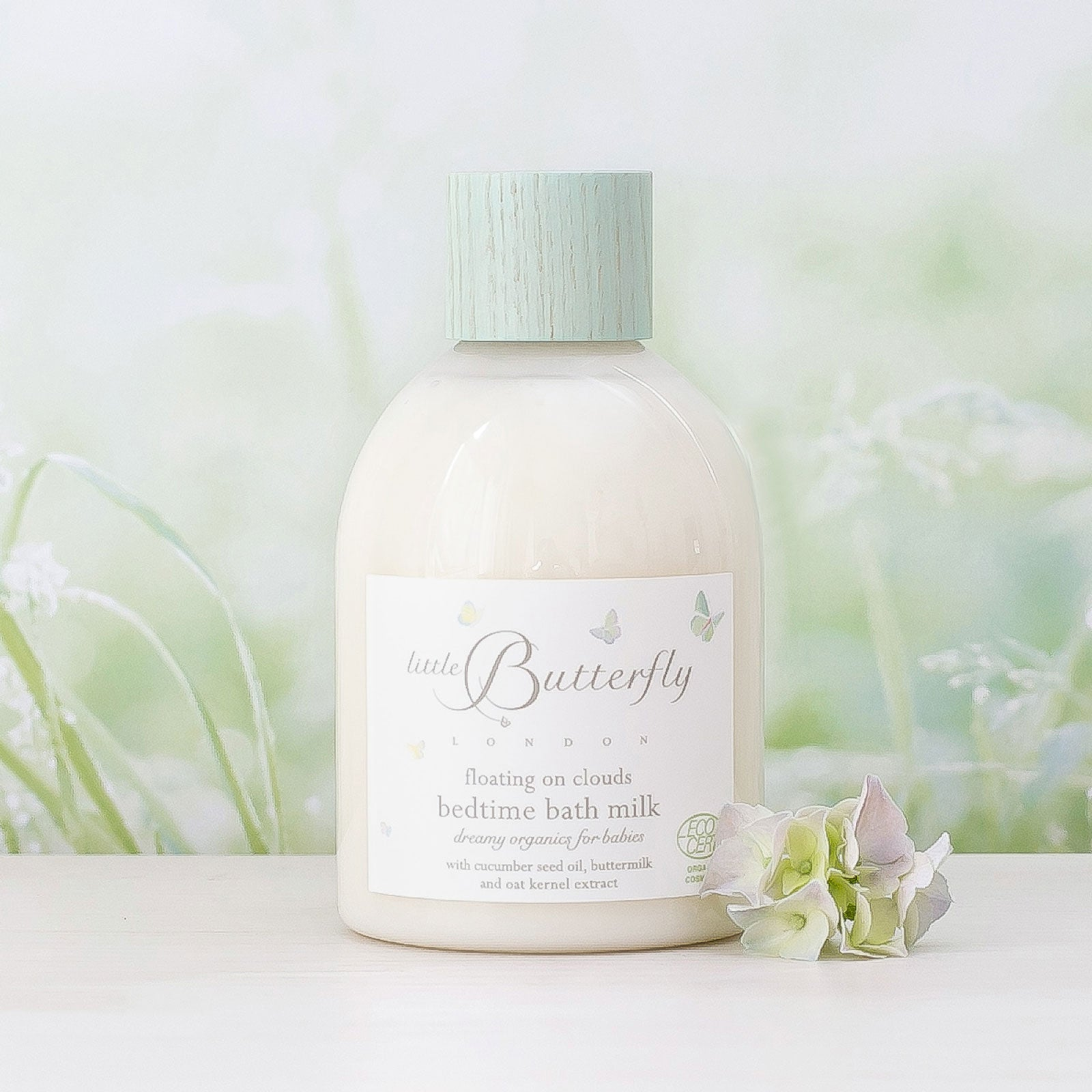 Little Butterfly London Floating on Clouds Bedtime Bath Milk 250ml