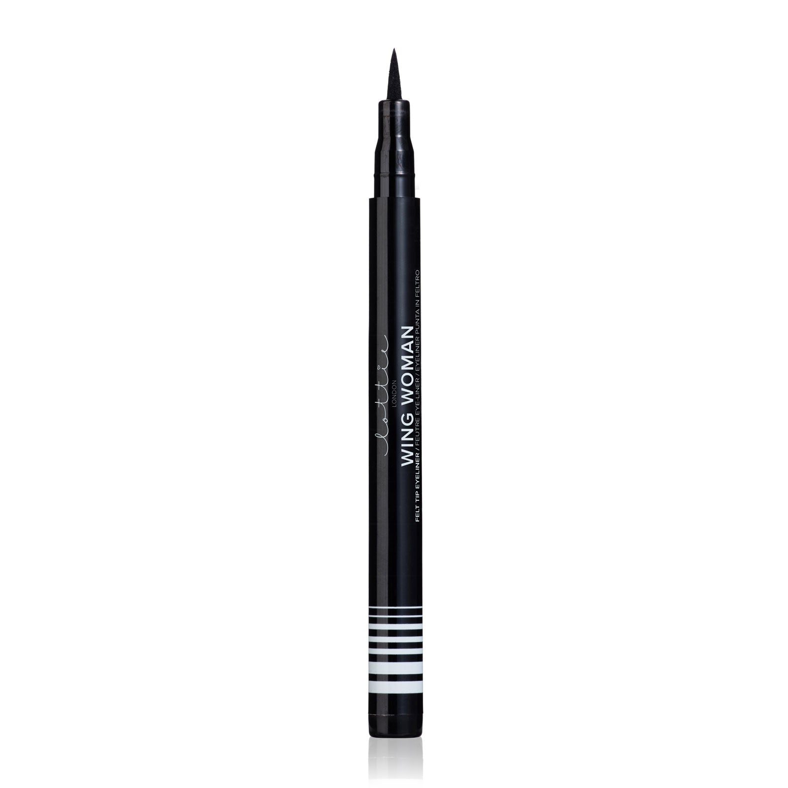 Lottie London Wing Woman Felt Liner Black 1.8ml