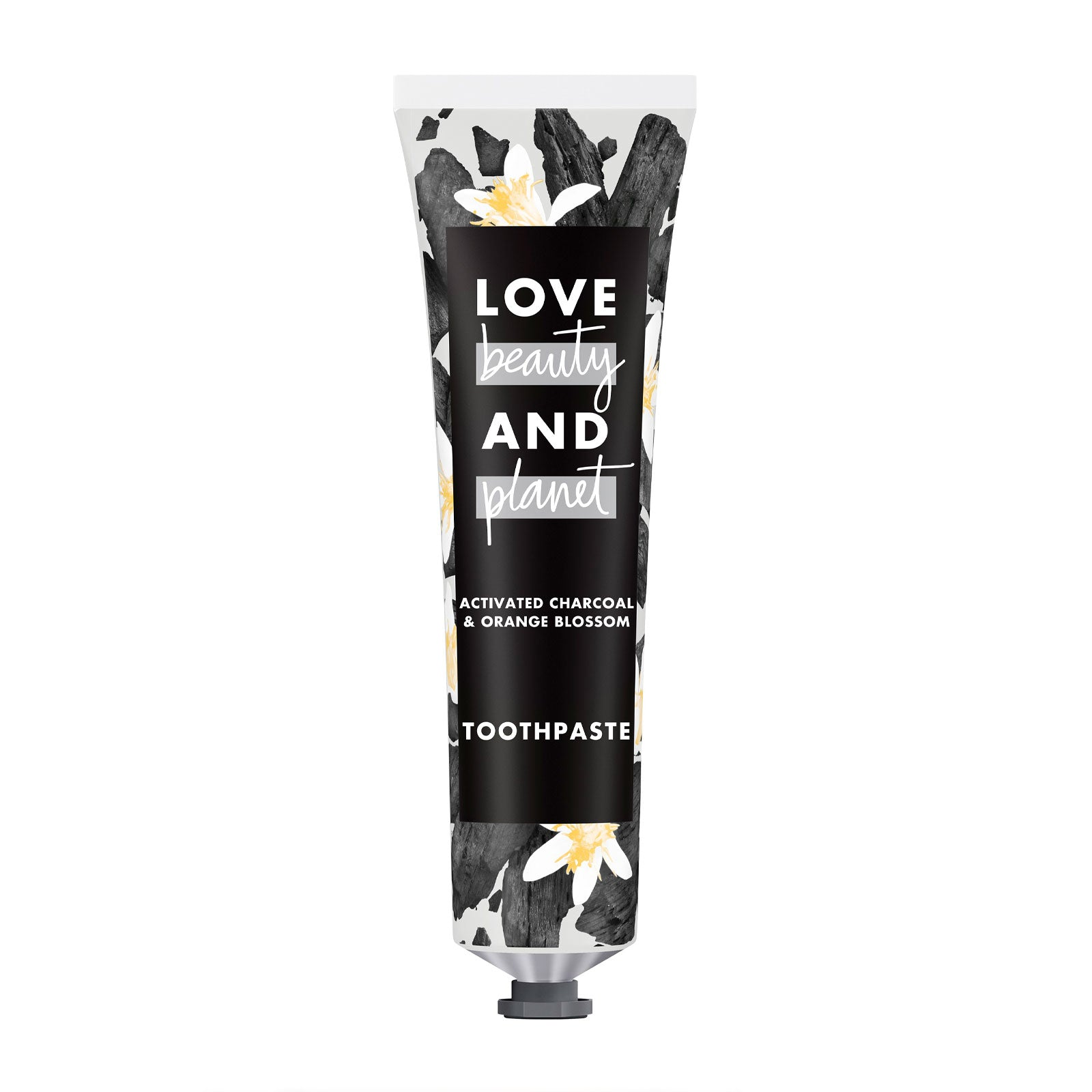 Love Beauty and Planet Detox Whitening Activated Charcoal and Orange Blossom Toothpaste 75ml