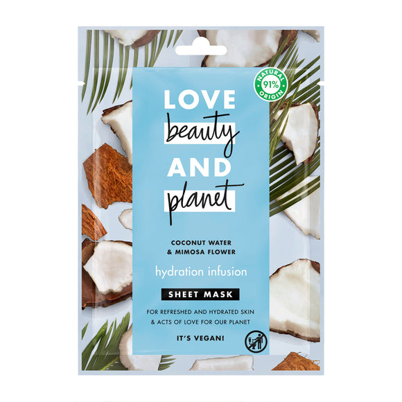 Love Beauty and Planet Hydration Infusion Sheet Mask