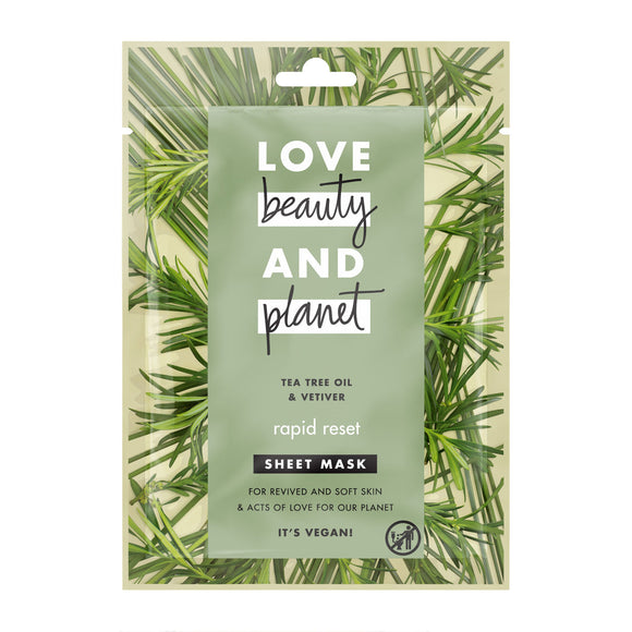 Love Beauty and Planet Rapid Reset Sheet Mask