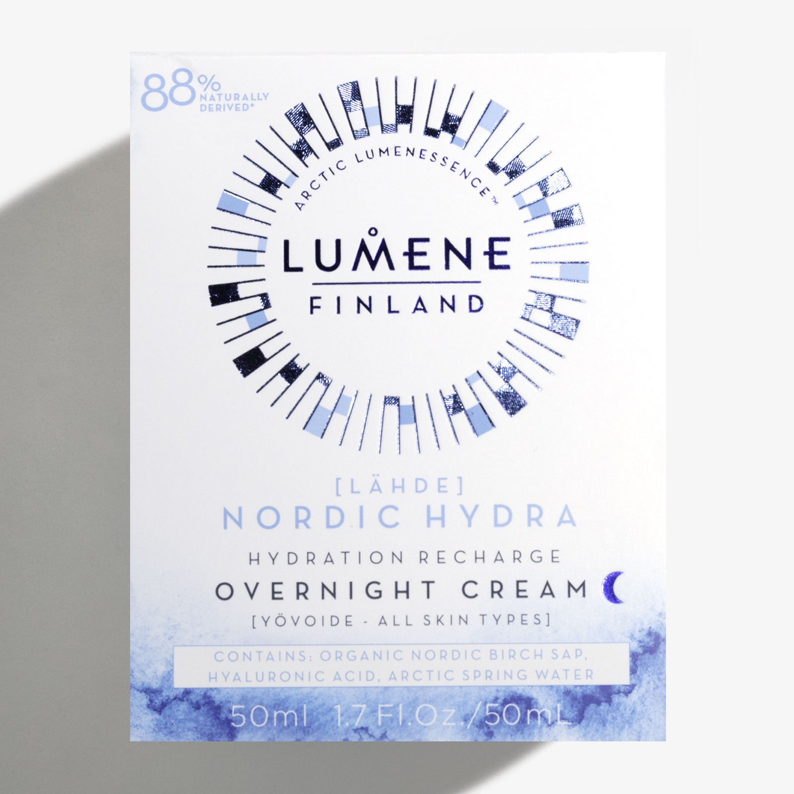 Lumene Nordic Hydra [Lähde] Hydration Recharge Overnight Cream 50ml