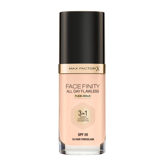 Max Factor Face Finity All Day Flawless 3 in 1 Foundation 30ml