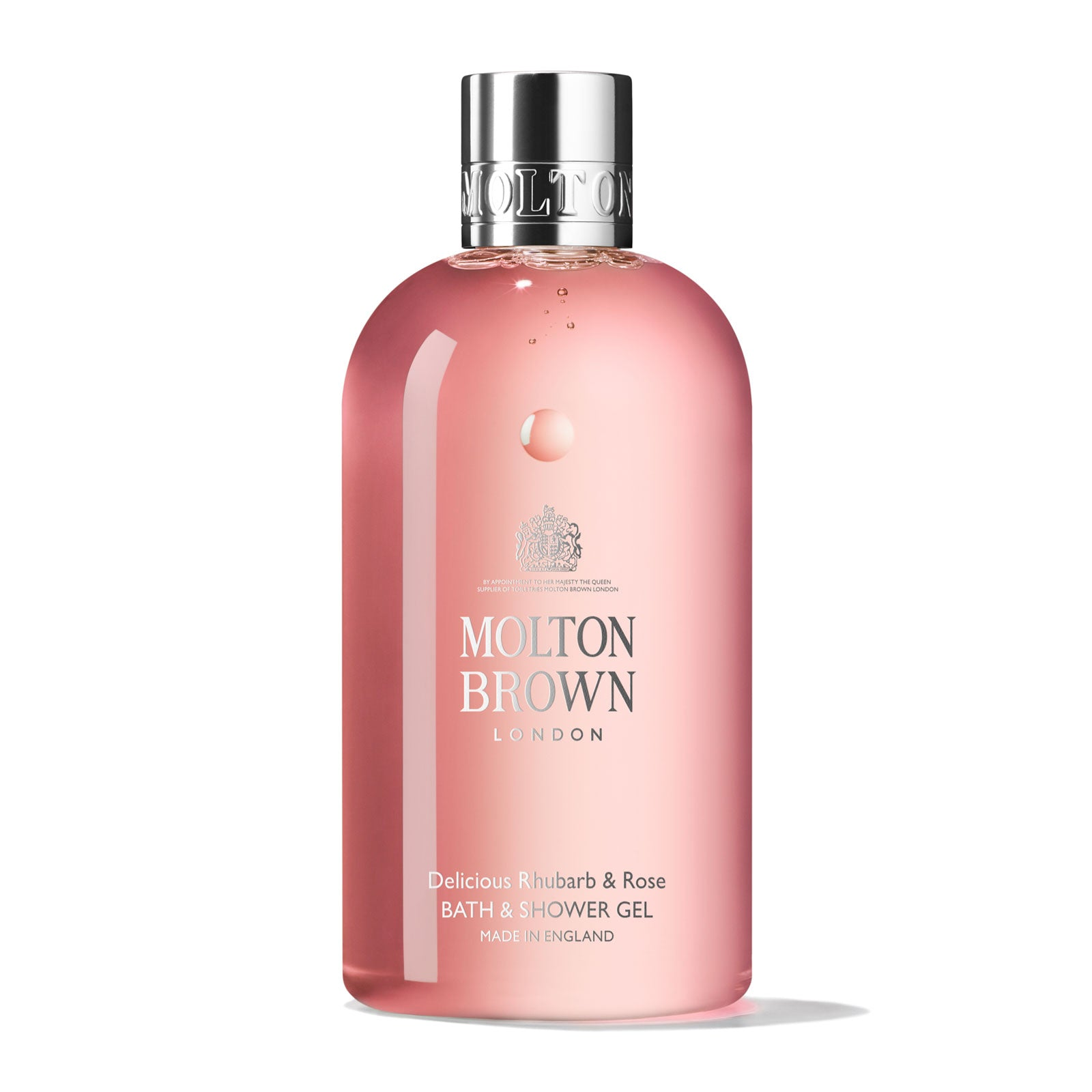 Molton Brown Delicious Rhubarb & Rose Bath & Shower Gel 300ml