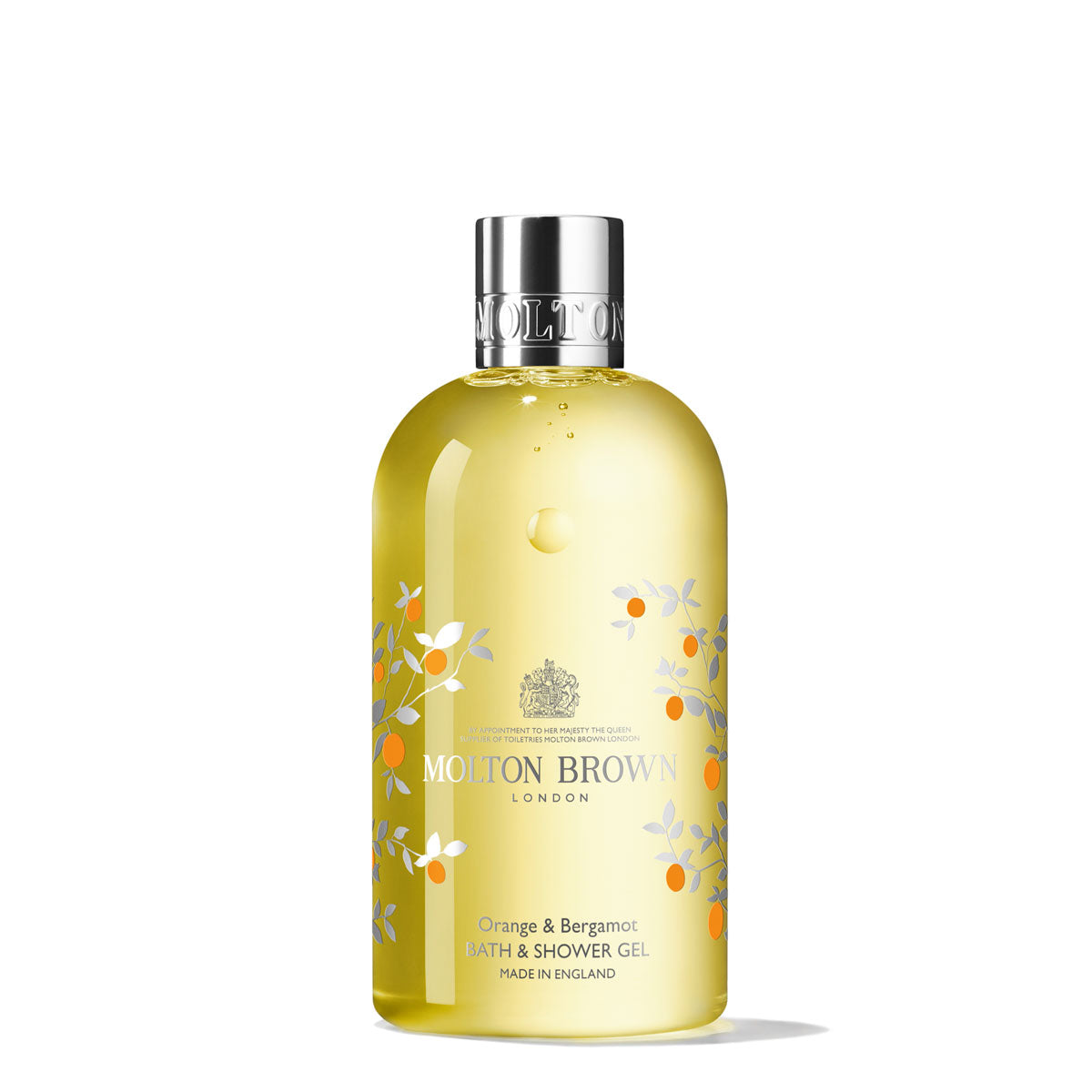 Molton Brown Orange & Bergamot Bath & Shower Gel 300ml - Limited Edition