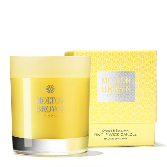 Molton Brown Orange & Bergamot Single Wick Candle 180g