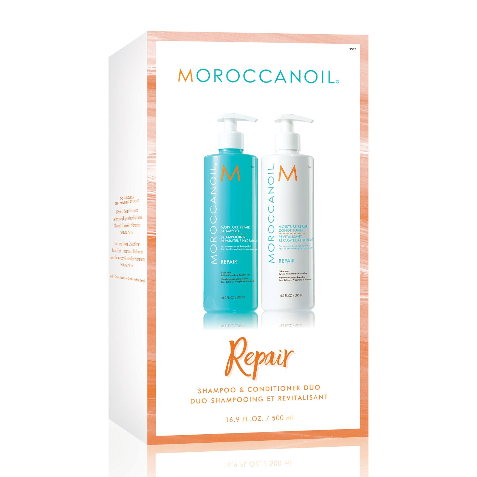 Moroccanoil Moisture Repair Shampoo & Conditioner Duo 500ml