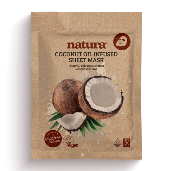 natura Coconut Oil Infused Sheet Mask