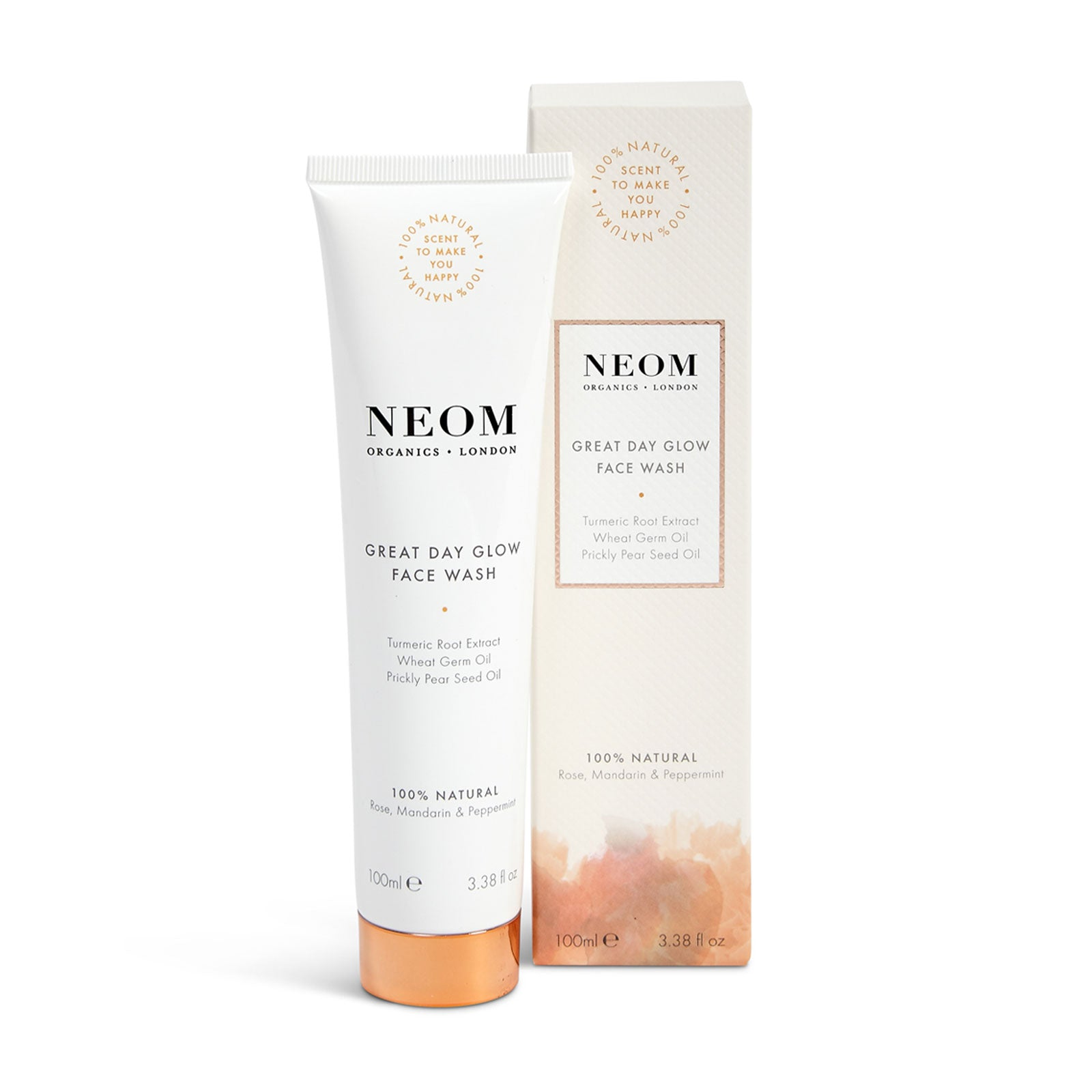 NEOM Organics London Great Day Glow Face Wash 100ml