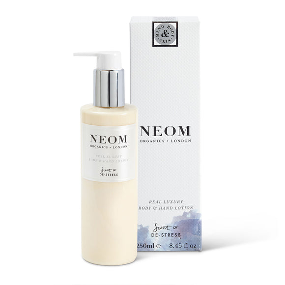 NEOM Organics London Real Luxury Body & Hand Lotion 250ml