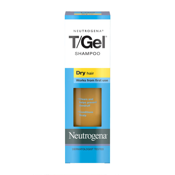 Neutrogena T/Gel Shampoo for Dry Hair 125ml