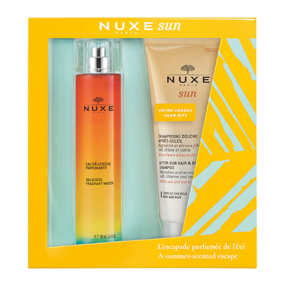 NUXE Sun Fragrant Water + After Sun Shampoo Duo