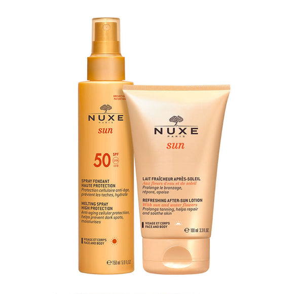 NUXE Sun Melting Cream + After Sun Lotion Duo