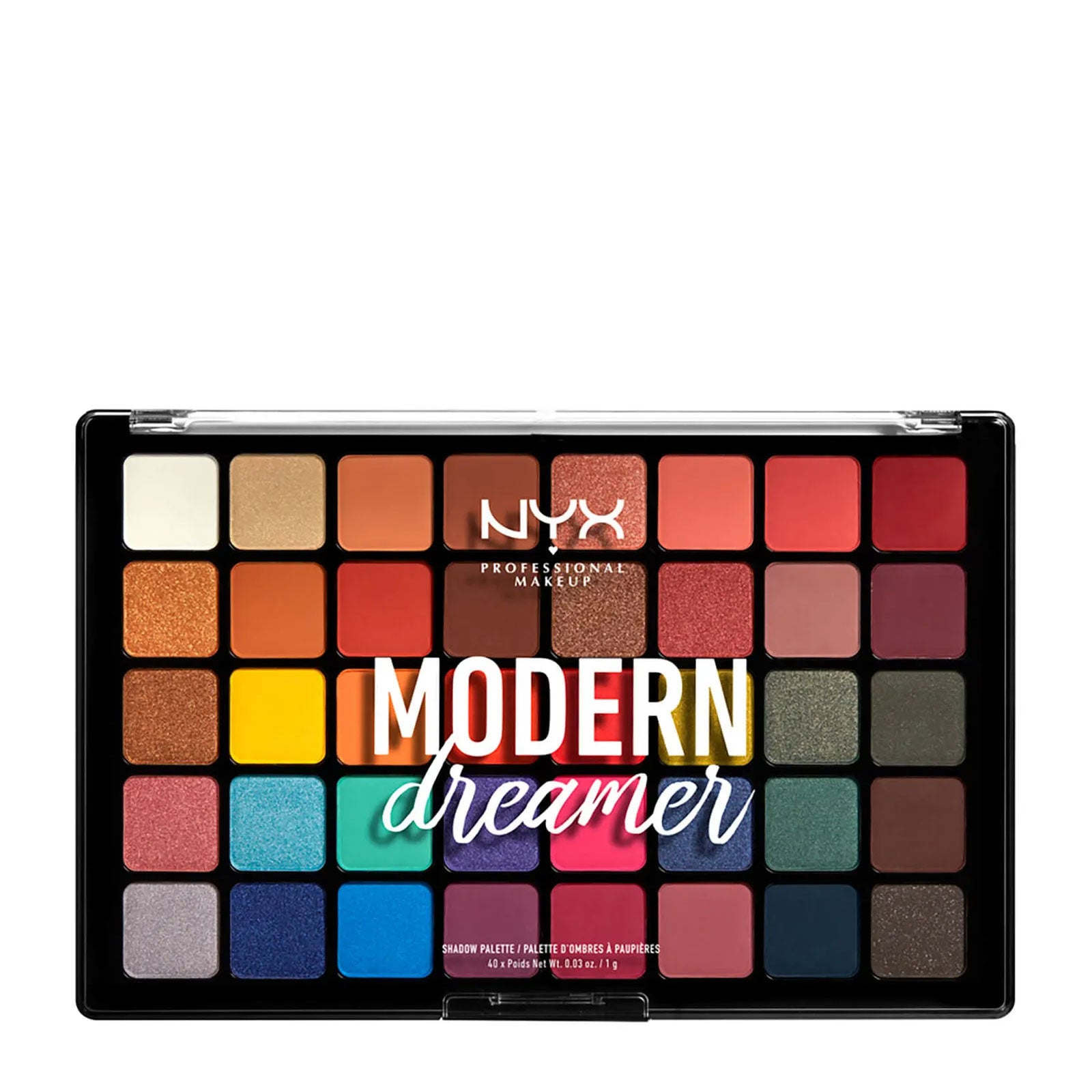 NYX Professional Makeup Modern Dreamer Eyeshadow Palette 40g