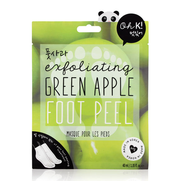 Oh K! Exfoliating Green Apple Foot Peel 40ml