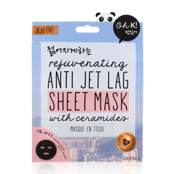 Oh K! Rejuvenating Anti Jet Lag Sheet Mask