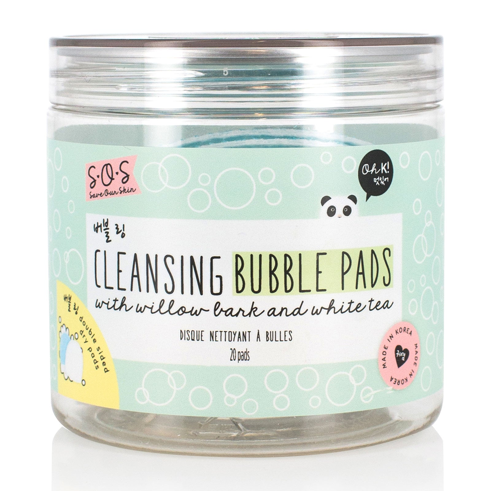 Oh K! SOS Exfoliating Cleansing Pads x 20