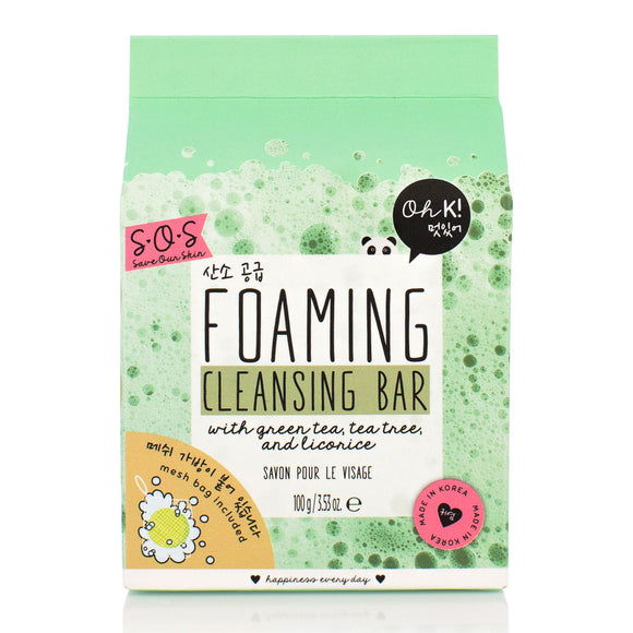 Oh K! SOS Foaming Cleansing Bar 100g