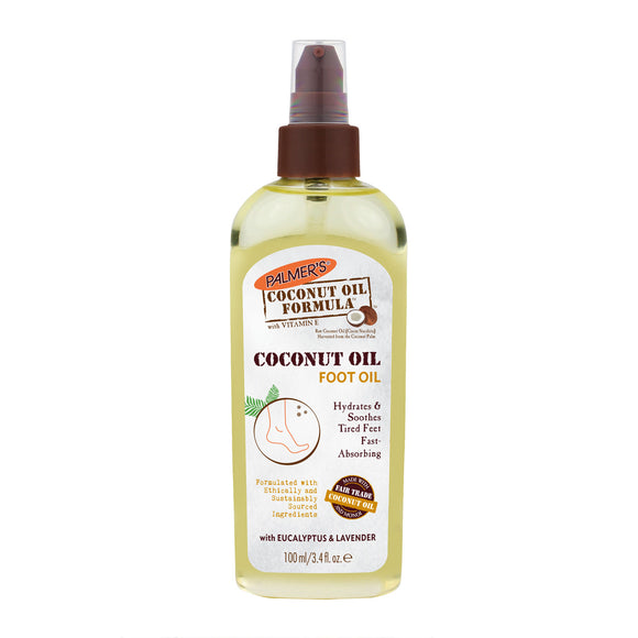 Palmer's Coconut Massage Oil For Feet 100ml