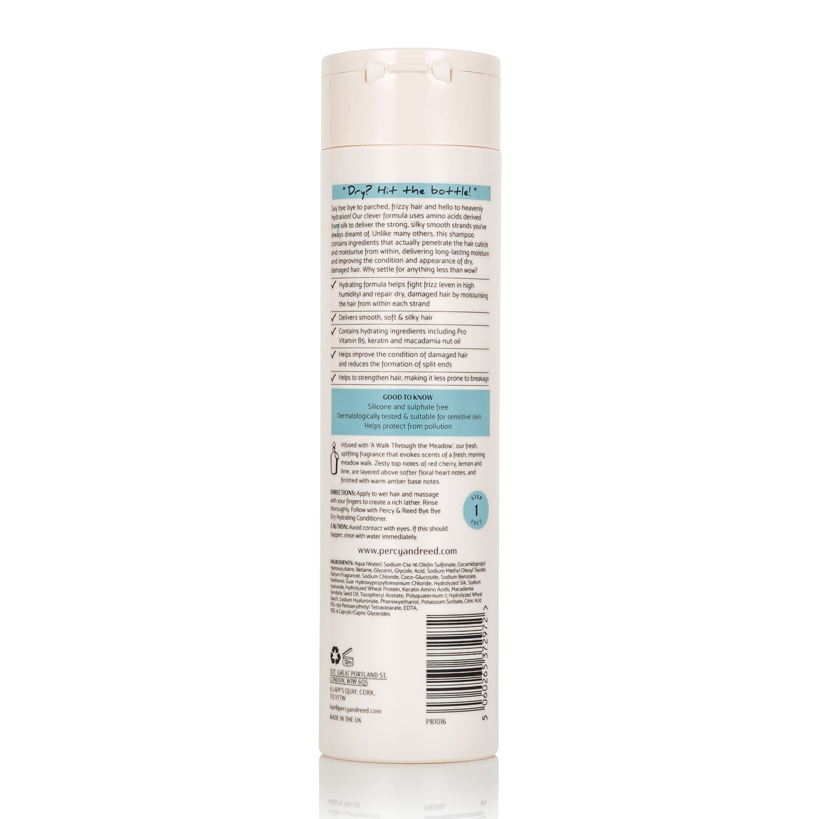 Percy & Reed Bye Bye Dry Hydrating Shampoo 250ml