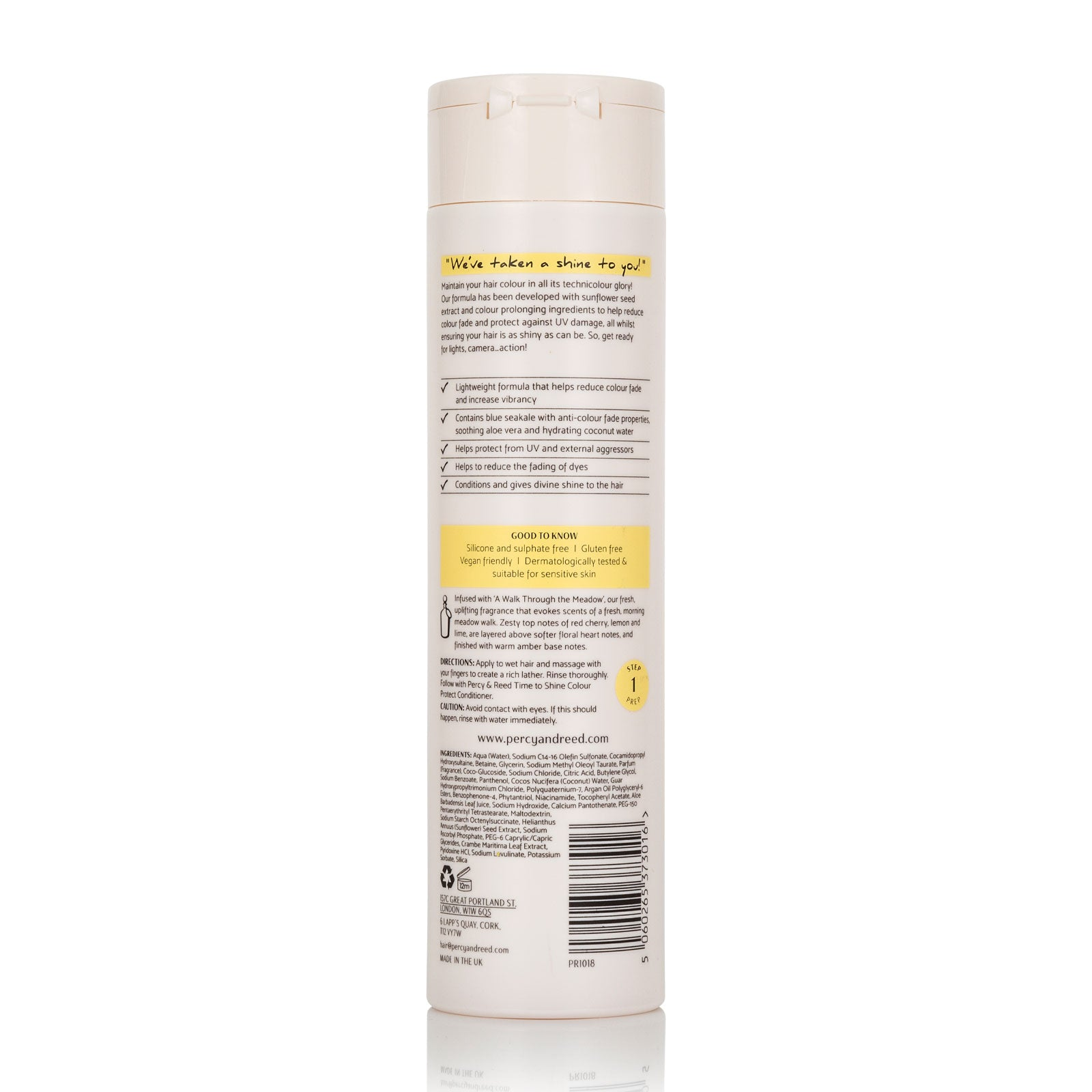 Percy & Reed Time to Shine Colour Protect Shampoo 250ml