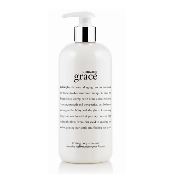 philosophy amazing grace firming body emulsion 480ml
