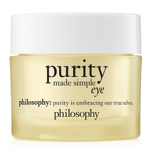 philosophy purity made simple eye gel 15ml