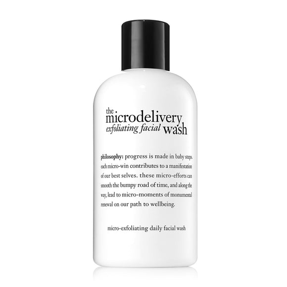 philosophy microdelivery exfoliating wash 237ml