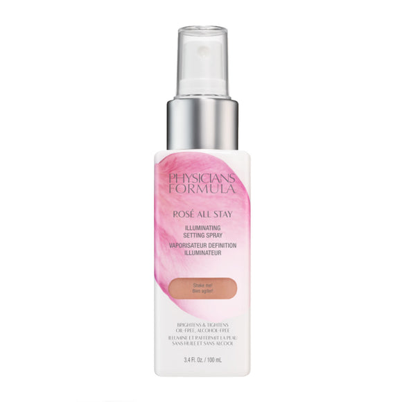 Physicians Formula Rosé All Stay Illuminating Setting Spray 100ml