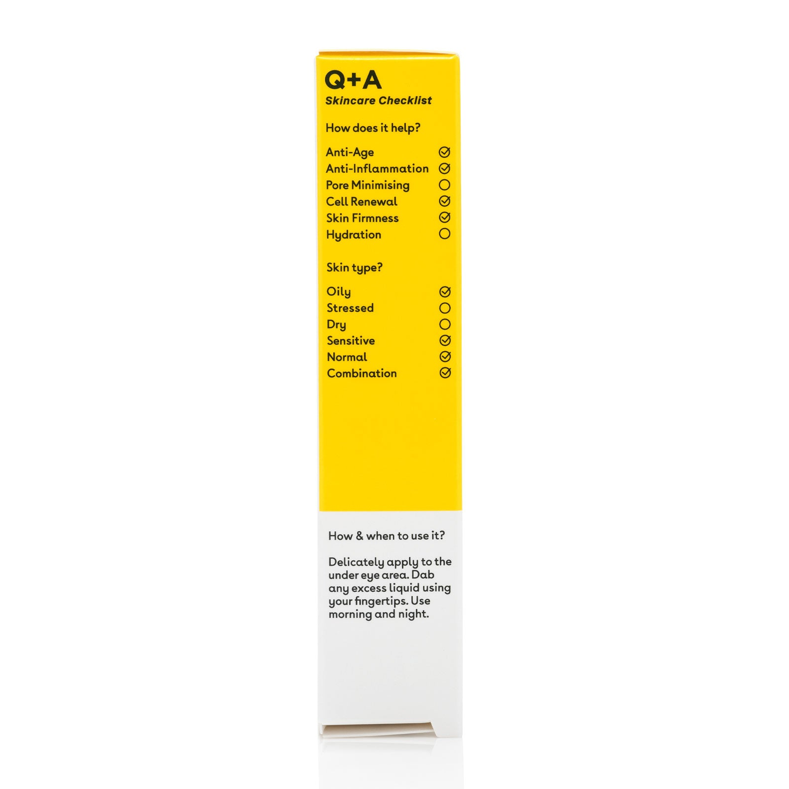 Q+A Caffeine Eye Serum 15ml