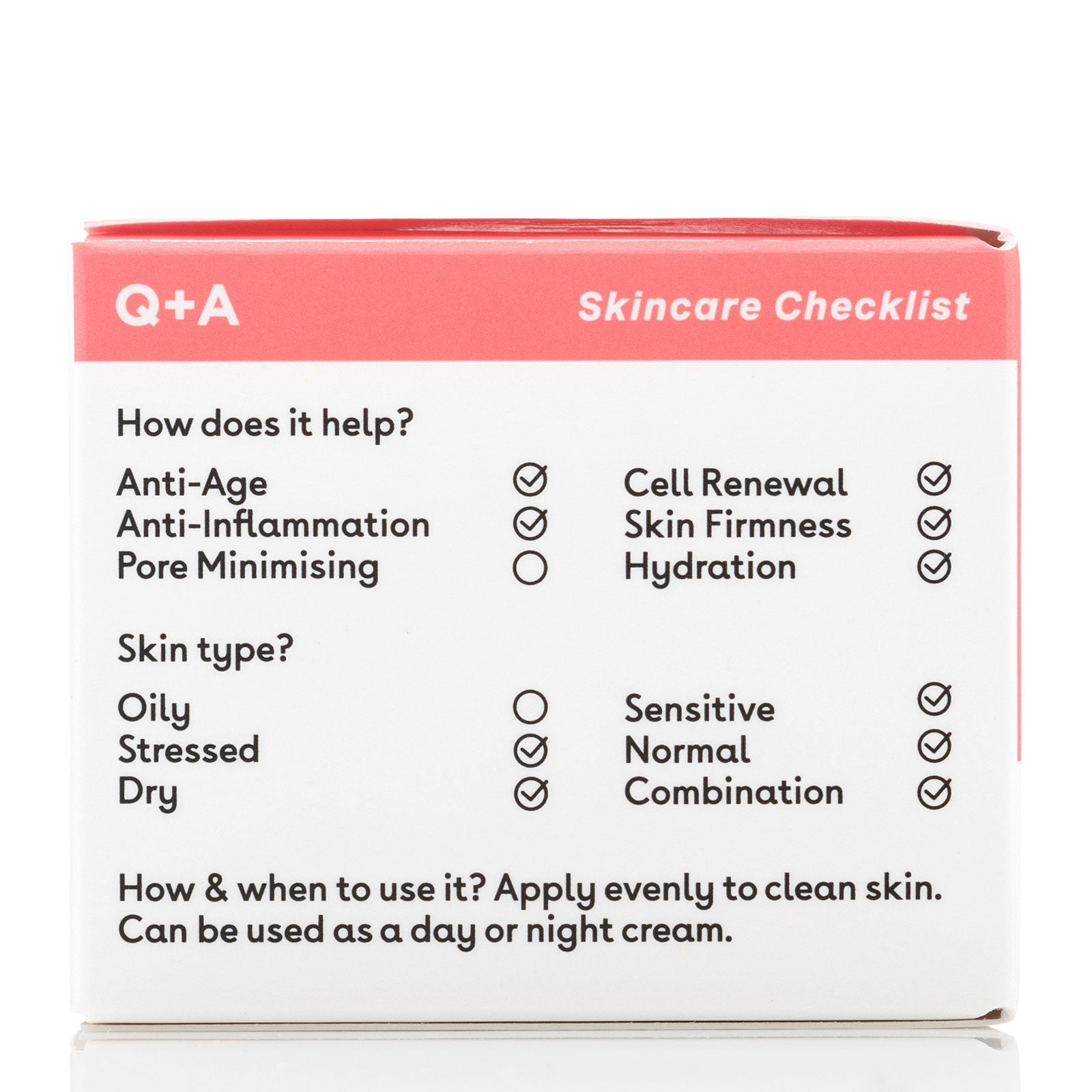 Q+A Collagen Face Cream 50g