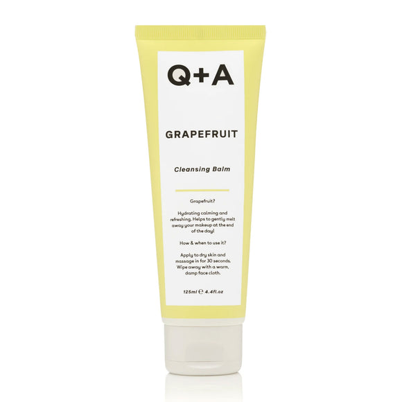 Q+A Grapefruit Cleansing Balm 125ml