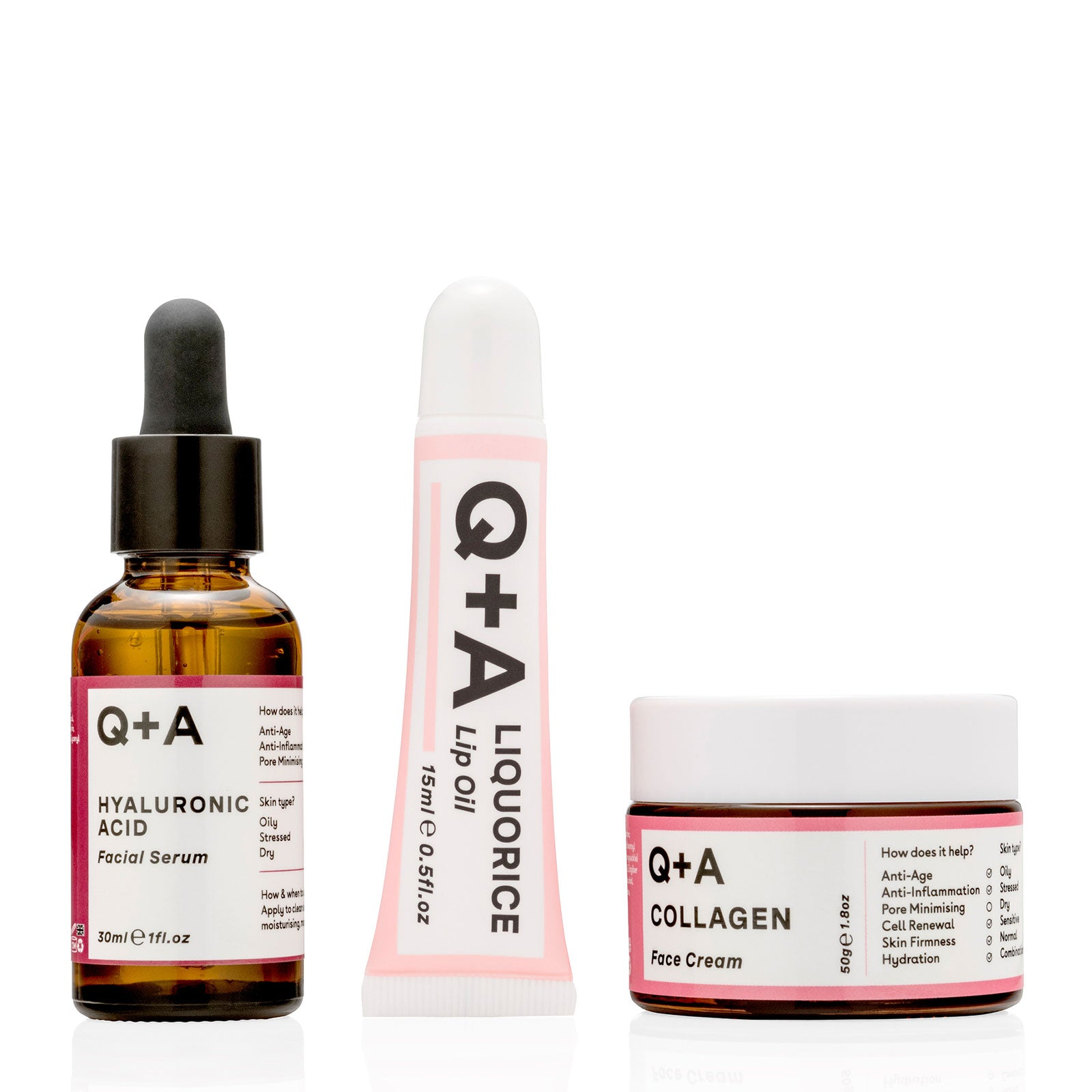 Q+A Mighty Moisturiser Bundle
