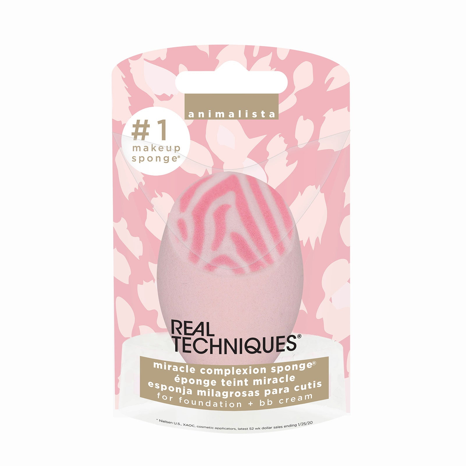 Real Techniques Animalista Zebra Miracle Complexion Sponge