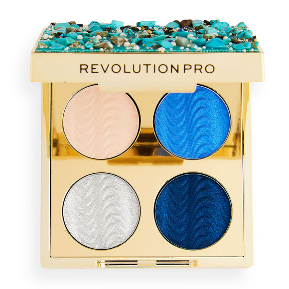 Revolution PRO Ultimate Eye Look Ocean Treasure Palette 3.2g