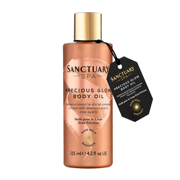 Sanctuary Spa Rose Radiance Body Oil 125ml
