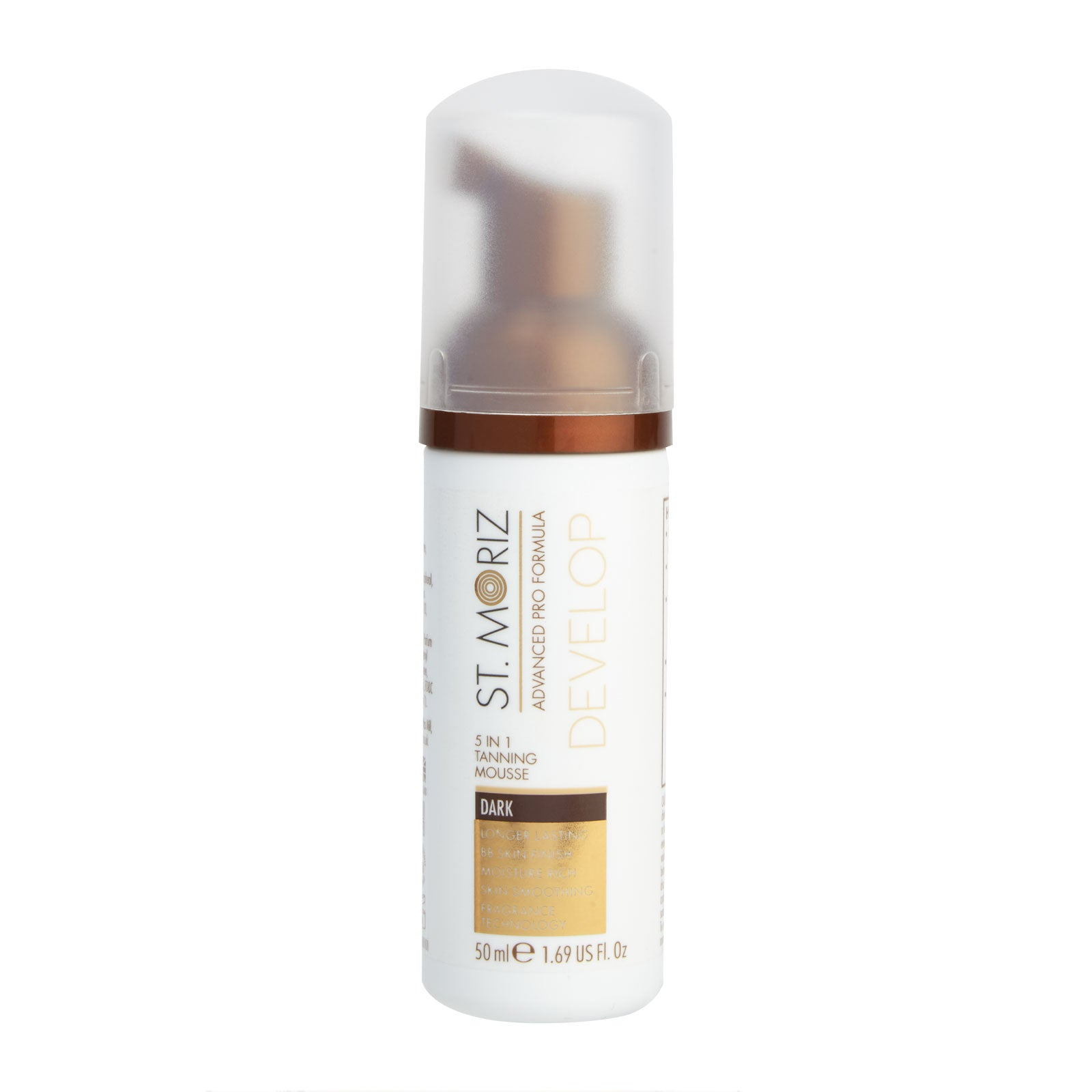 St. Moriz Advanced Pro 5 in 1 Tanning Mousse Dark Travel Size 50ml