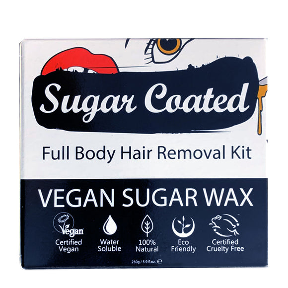 Sugar Coated Full Body Hair Removal Kit 250ml