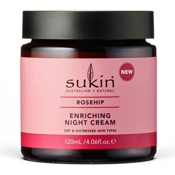 Sukin Rose Hip Enriching Night Cream 120ml
