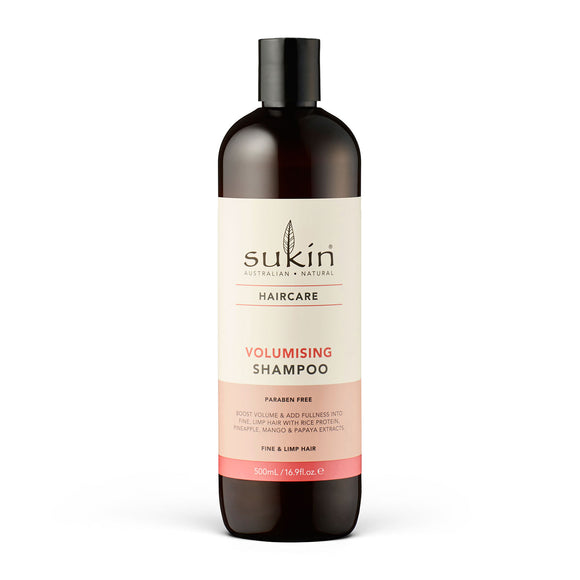 Sukin Volumising Shampoo 500ml