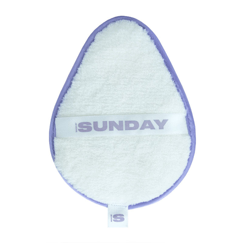Sunday Ivy Microfibre Makeup Removal Pad 2 Pack