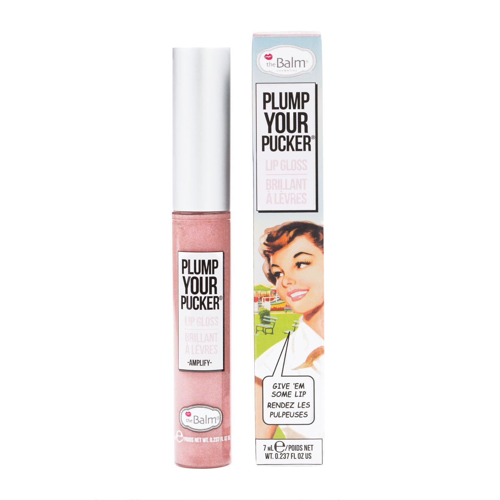 theBalm Plump Your Pucker Lip Gloss 7ml