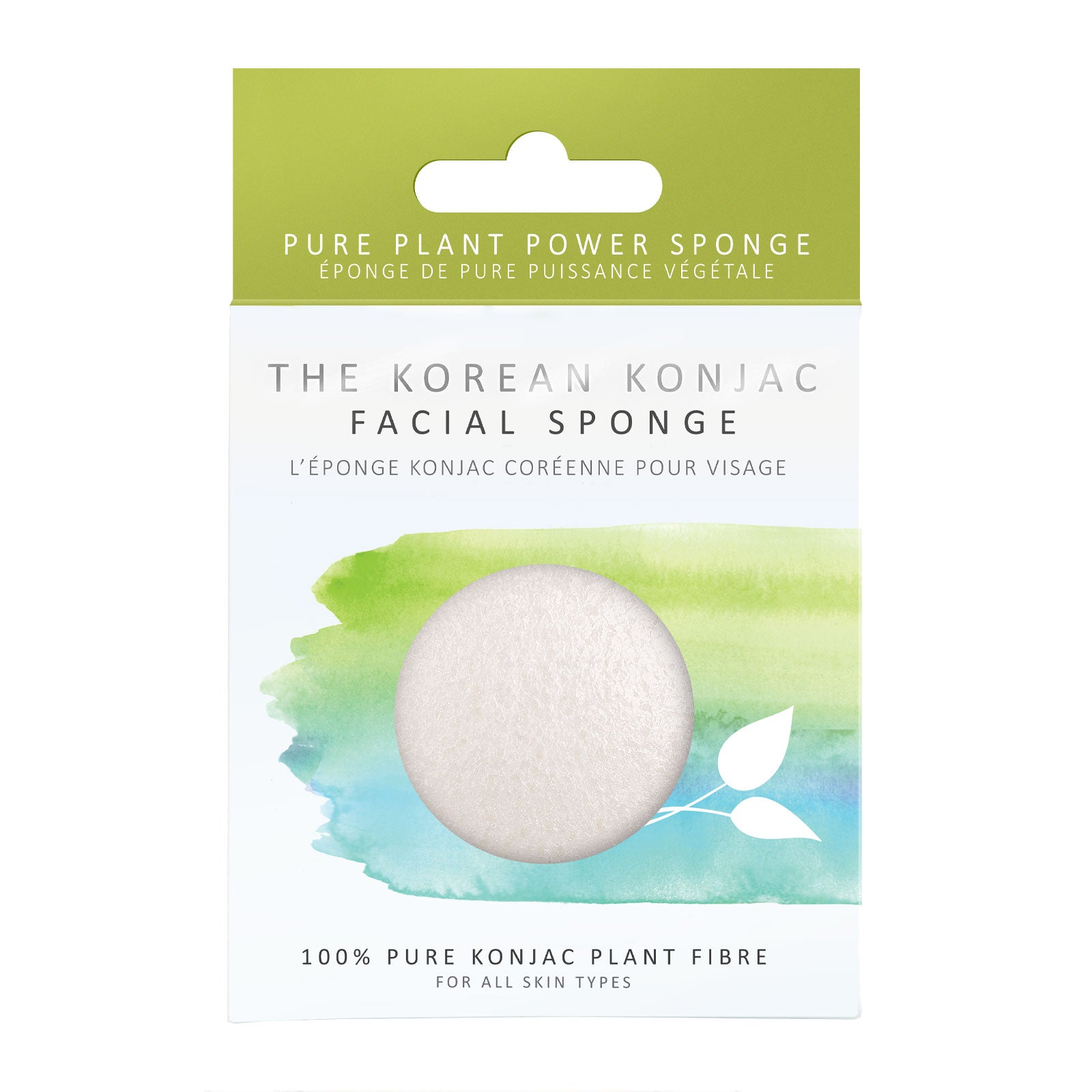 The Konjac Sponge Company Original 100% Natural Vegetable Fibre Sponge