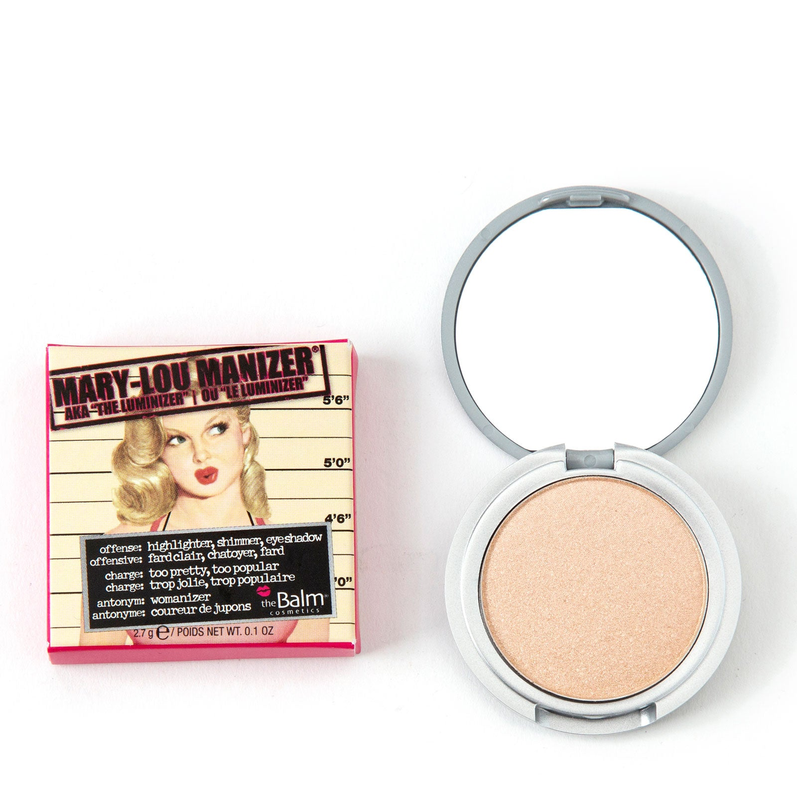 theBalm Mama Collection - Mary Lou Manizer Luminizer Travel Size 2.7g