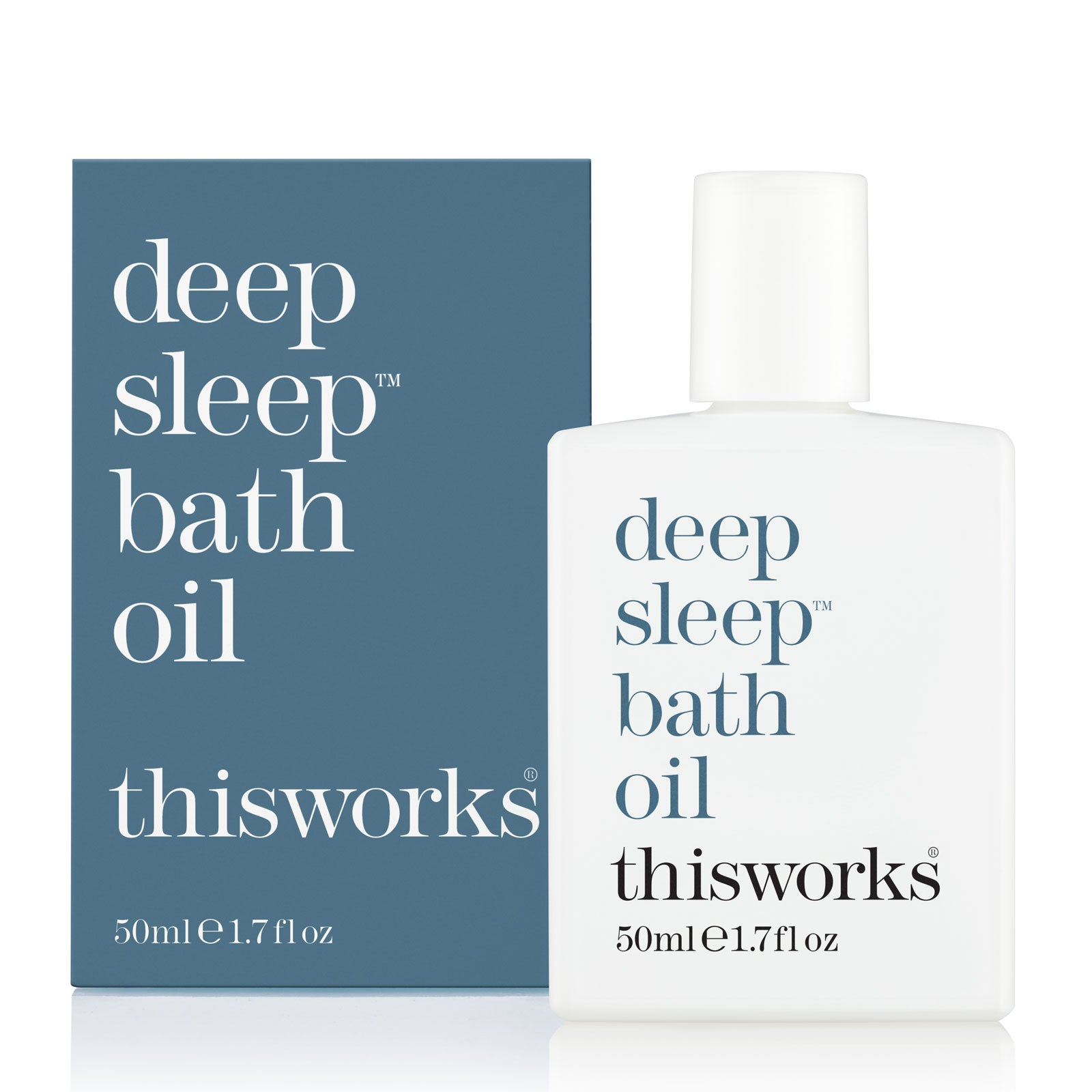 this works Deep Sleep Bath Oil 50ml
