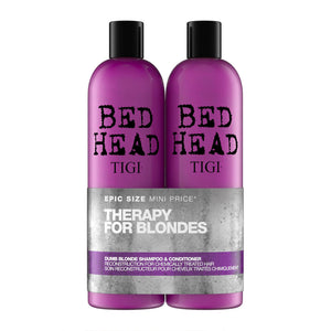 Bed Head by Tigi Dumb Blonde Shampoo and Conditioner for Blonde Hair 2x750ml