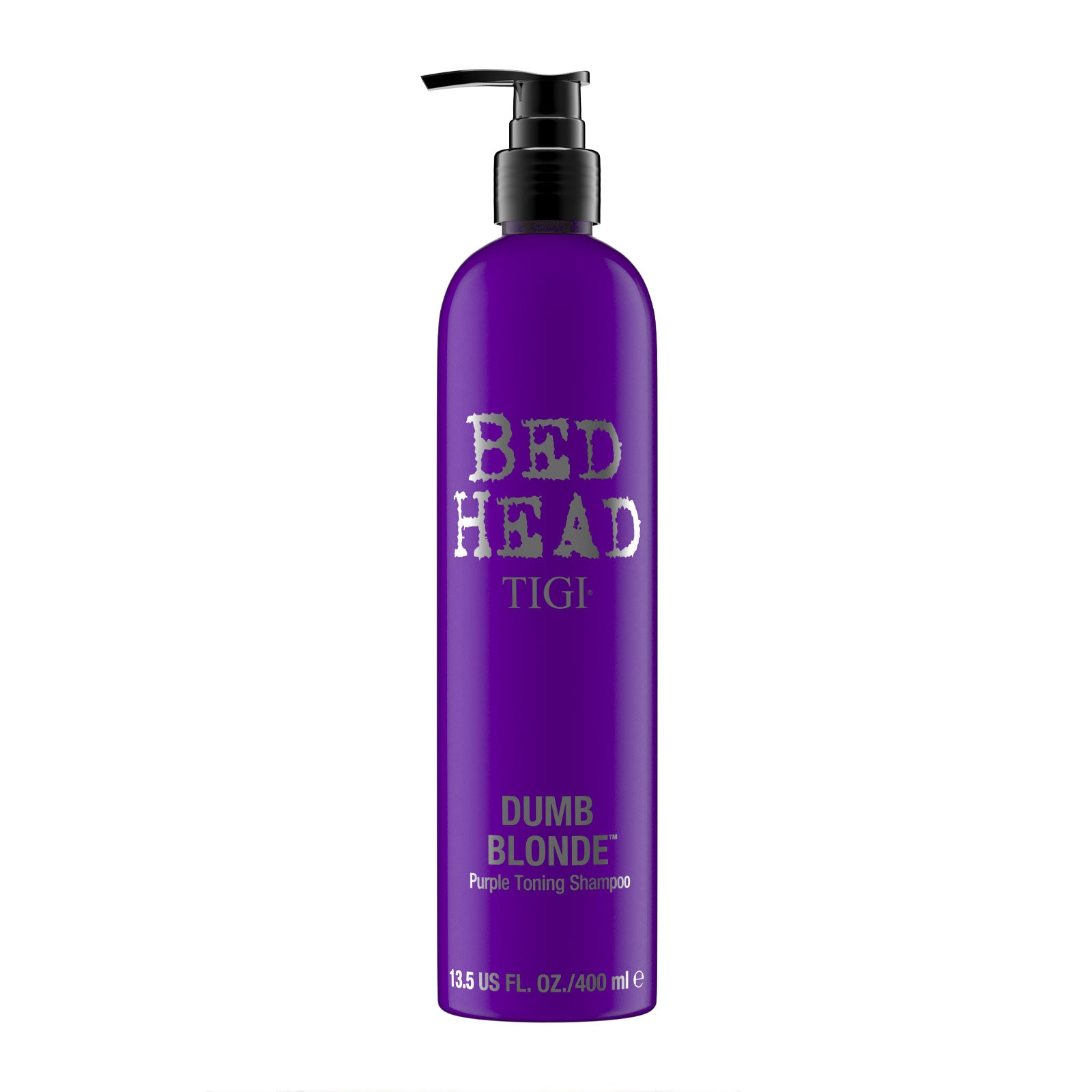 Bed Head by Tigi Dumb Blonde Purple Toning Shampoo for Brassy Blonde Hair 400ml